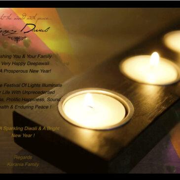 Happy Diwali & Happy New Year!