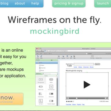 MockingBird - Quick Wireframe Tool