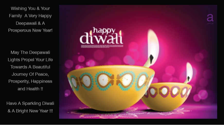 Happy Diwali And Prosperous New Year!  A Blog Less Ordinary