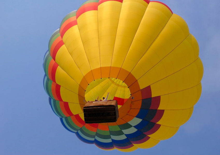 Napa Valley Balloon Ride !