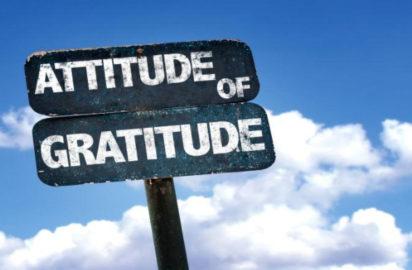 Attitude For Gratitude – Happy Thanksgiving Day